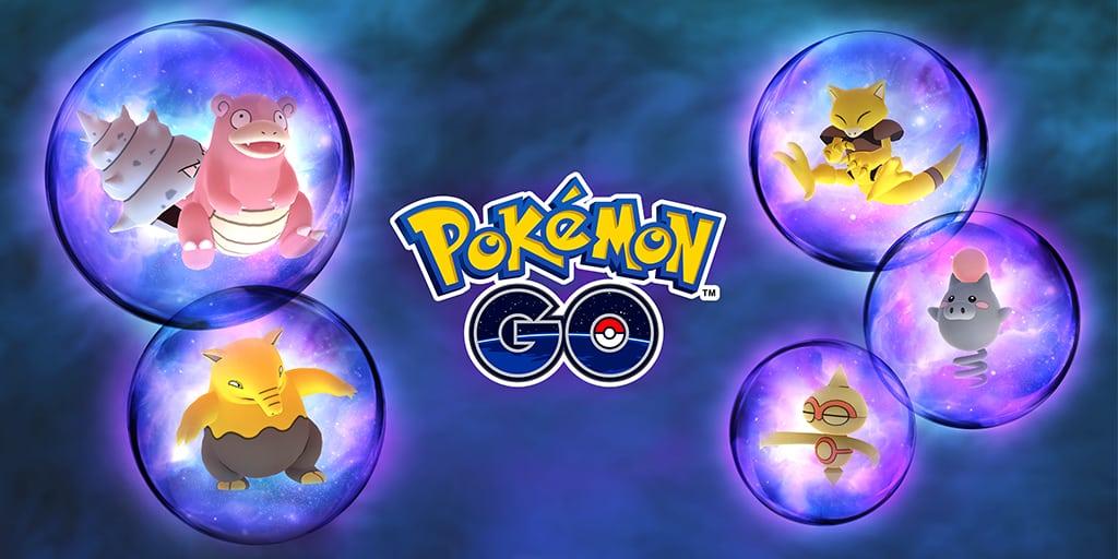 Un événement Fantasmagorie Psy dès aujourd'hui — Pokémon GO