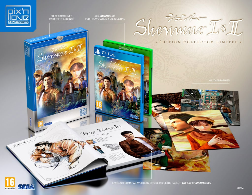 Shenmue 1 2 Collector Pix Love