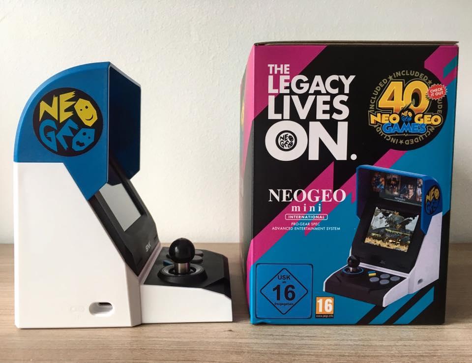 Test Neo Geo Mini THM