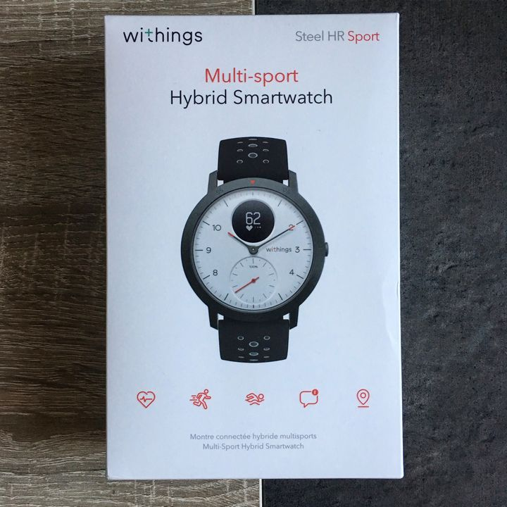 Test Withings Steel HR Sport THM