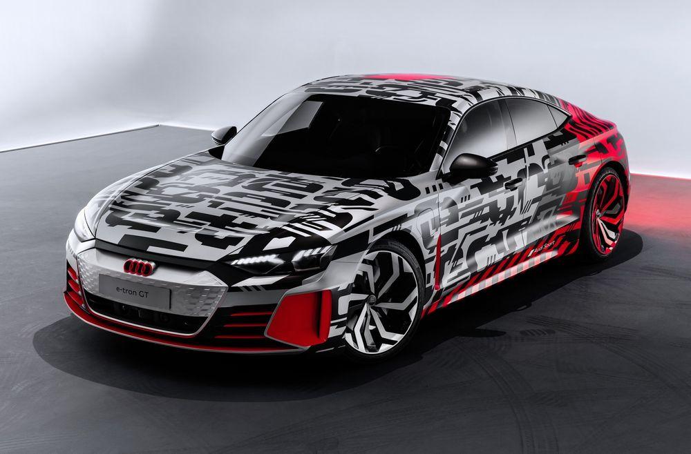 Audi présente l'e-tron GT Concept à Los Angeles