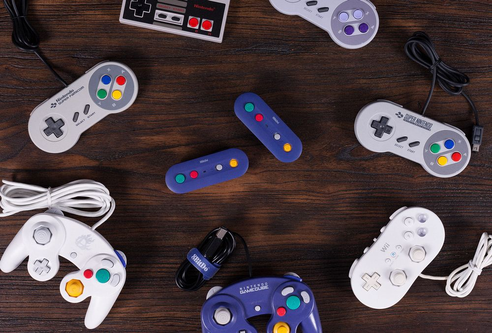 8Bitdo Gbros adaptateur GameCube Switch