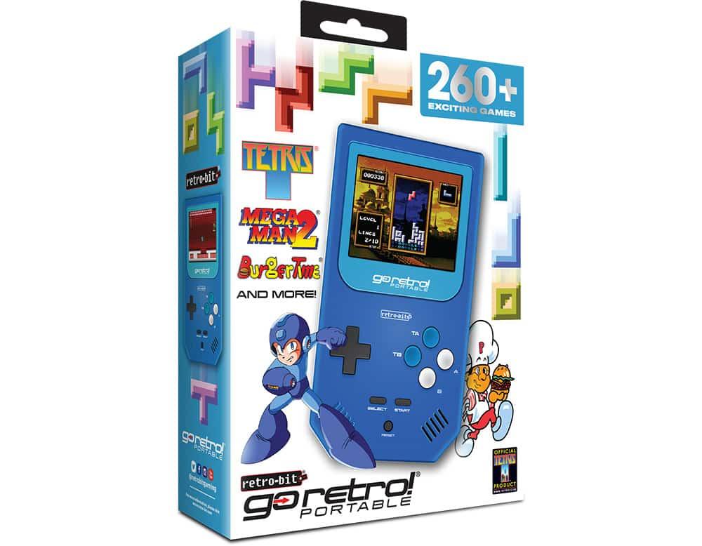 Retro-Bit Go Retro! Portable : la console portable rétro, avec 260 jeux intégrés