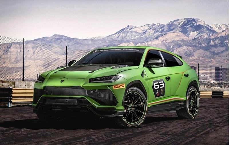 Lamborghini Urus ST-X Concept : le SUV de compétition
