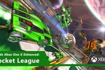 Rocket League 4K HDR Xbox One X