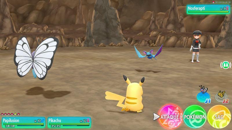 Test Pokemon Lets Go