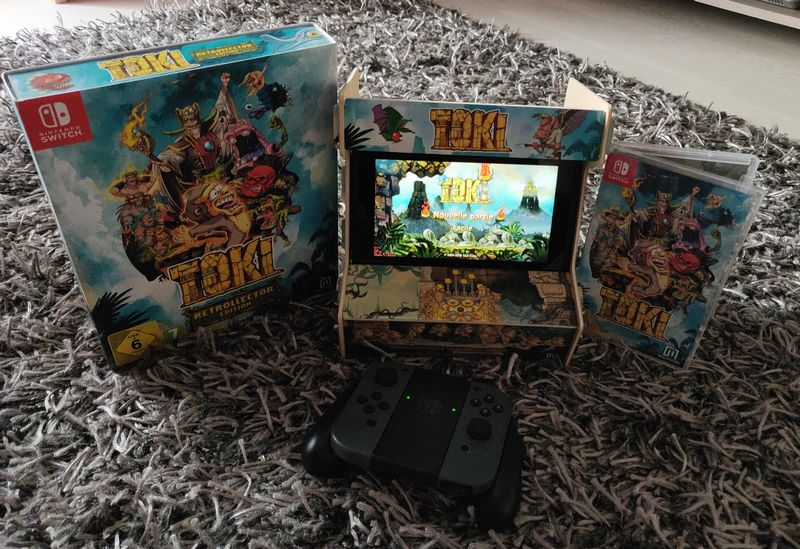 Toki Switch Retrocollector