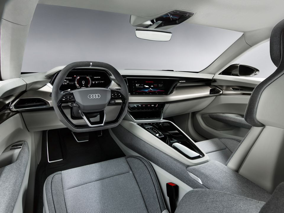 La voiture e-tron GT Concept a été présentée par Audi