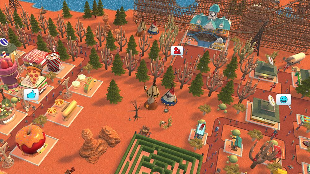 Test RollerCoaster Tycoon Switch