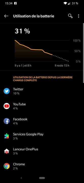 OnePlus 6T Batterie