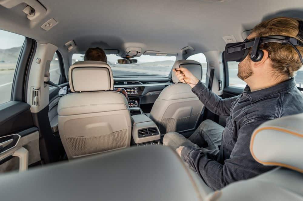 Audi etron VR disney