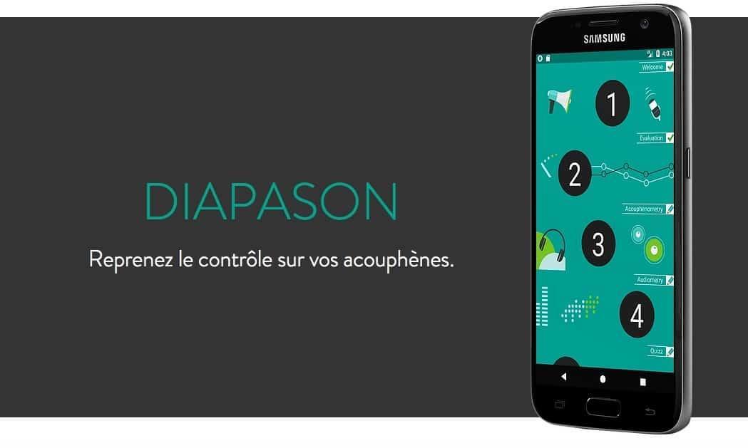 Diapason App iOS Android