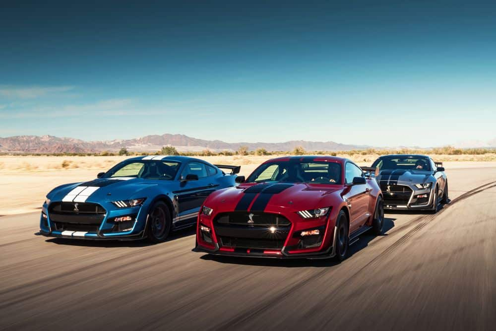 Ford Mustang Shelby 2020