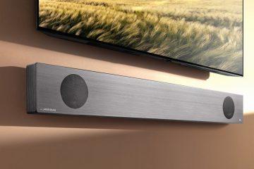 LG soundbar Meridian Google Assistant