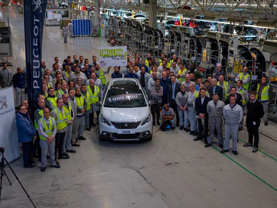 Peugeot 2008 million