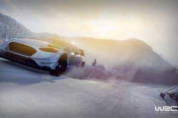 WRC 8 gameplay