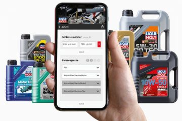 Application Liqui Moly Huile