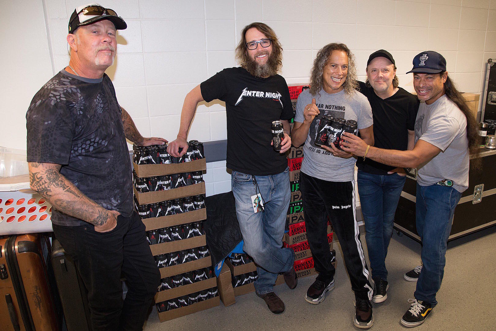 Metallica enter night biere