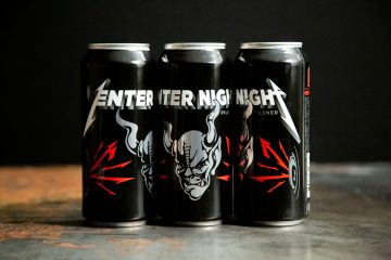 Metallica enter night biere