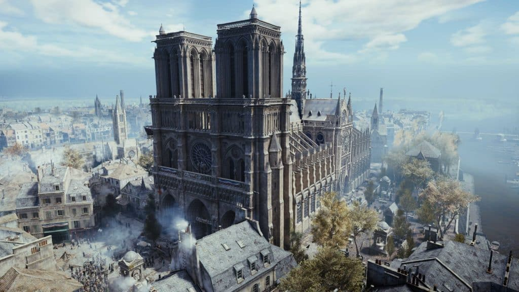 Notre Dame Assassin Creed