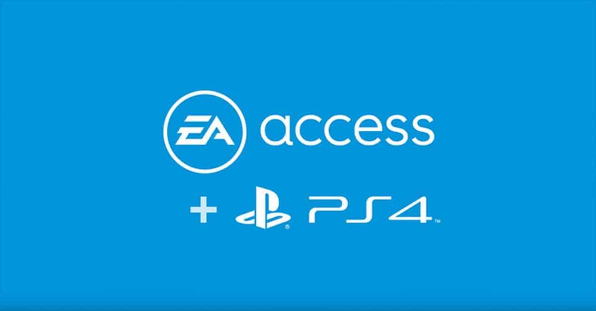 EA Access : le service d'abonnement aussi sur PS4