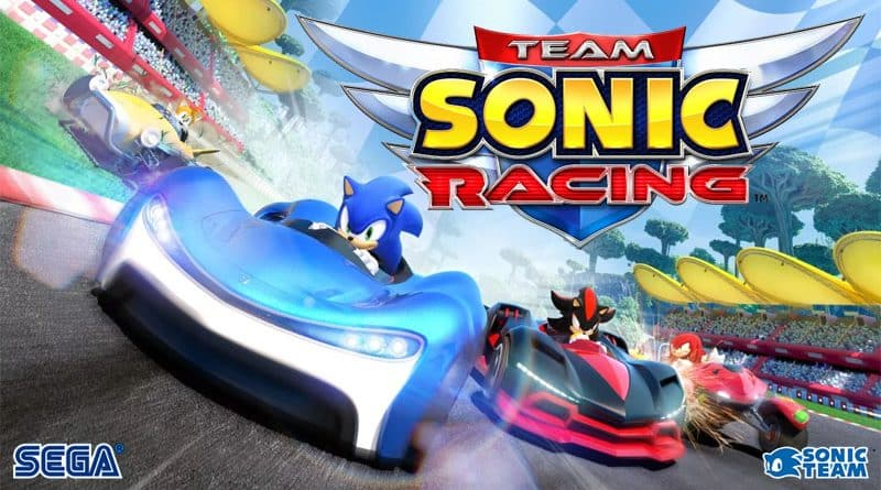 Test Team Sonic Racing