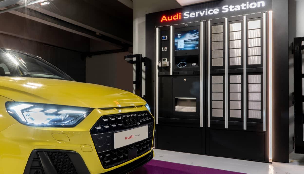 Audi-Service-Station