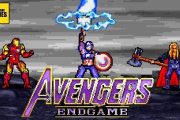Avengers Endgame video 16 bits