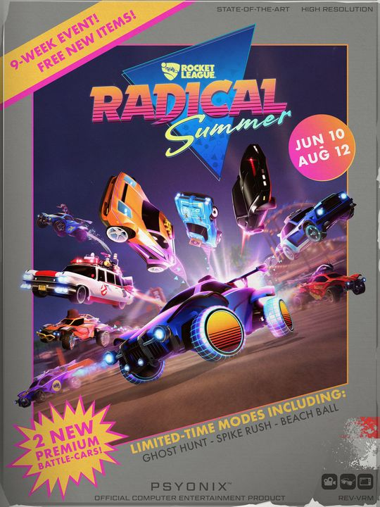 Radical Summer 8 bits