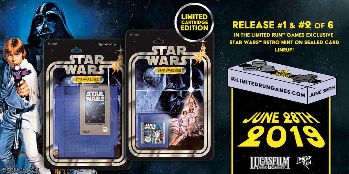 Star Wars collector NES GameBoy
