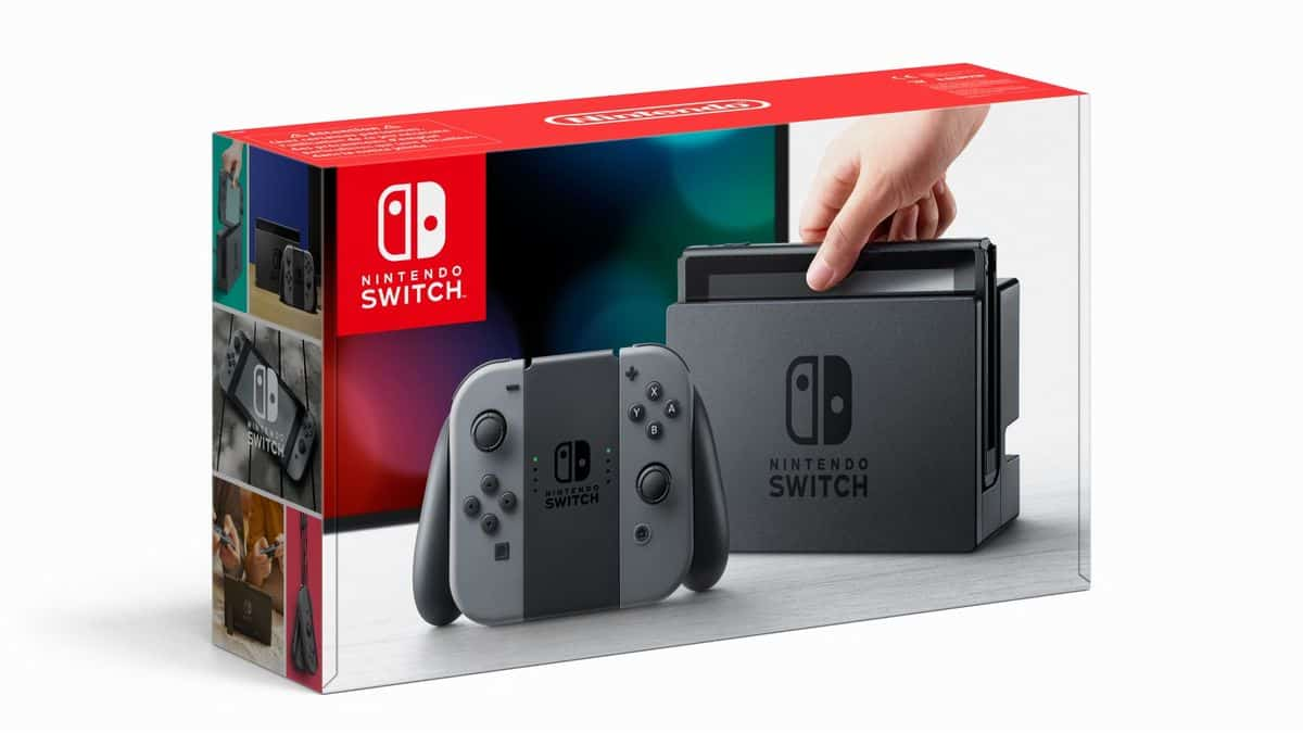 Ancienne Nintendo Switch