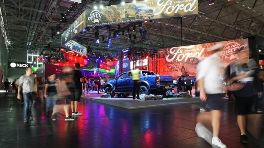 Ford eSport GamesCom