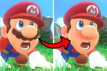 Mario Shaves Moustache