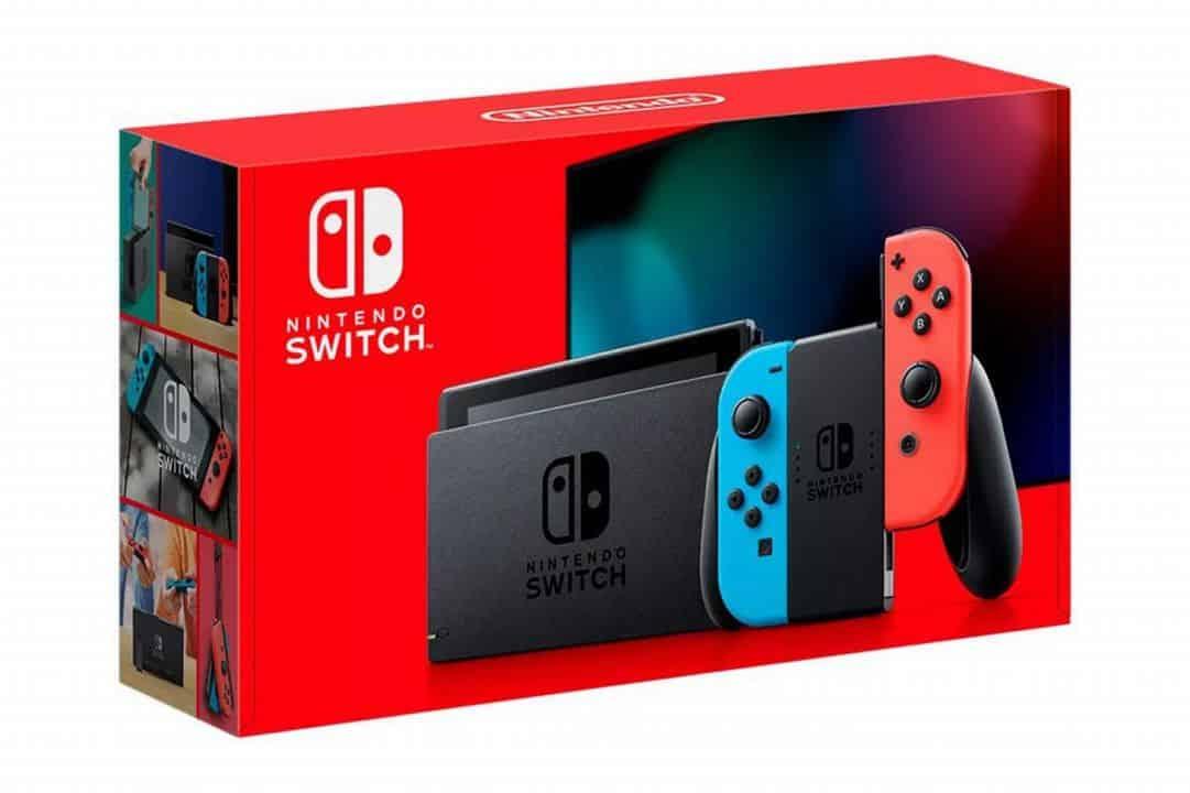 Boite Nouvelle Nintendo Switch
