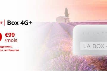 La nouvelle Box 4G+ de Free