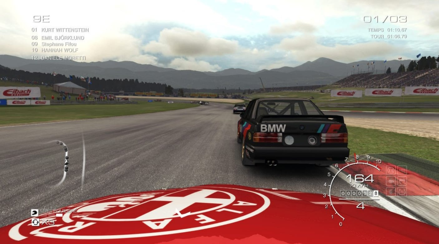 Test GRID Autosport Nintendo Switch Alfa Romeo