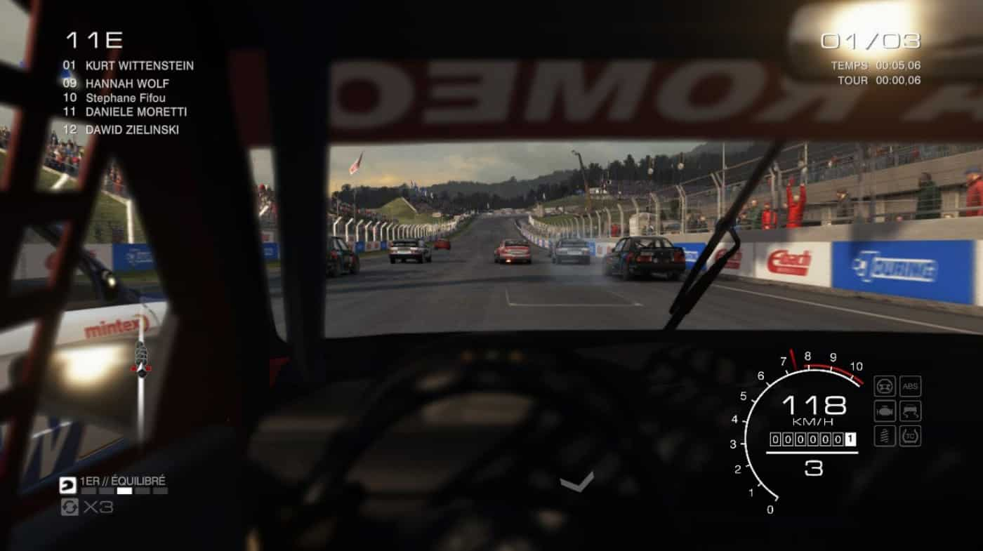 Test GRID Autosport Nintendo Switch