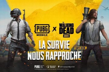 Partenariat PUBG Mobile The Walking Dead