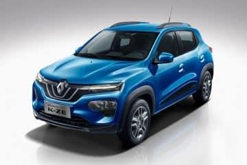 Nouveau crossover électrique Renault K-ZE