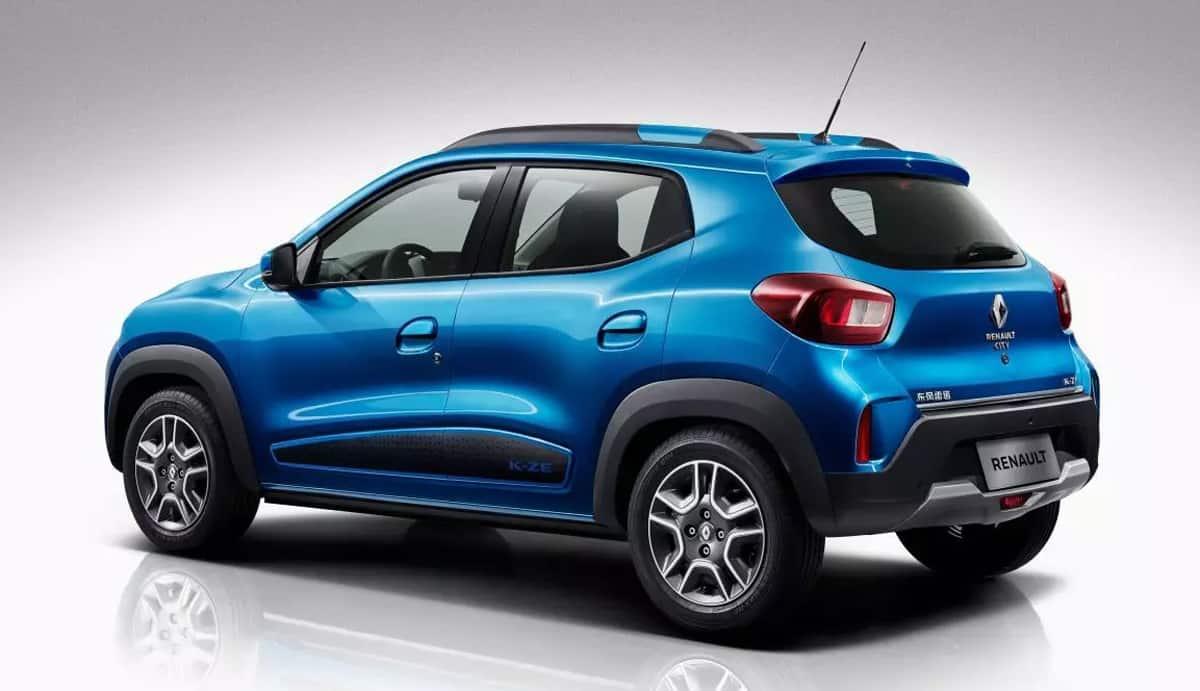 Renault K-ZE vue arrière