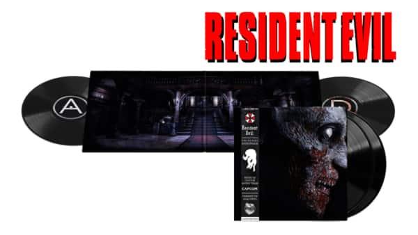 Resident Evil BO Vinyle