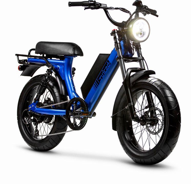 Juiced Bike : un nouveau cyclomoteur électrique Scorpion, en mode «old school»