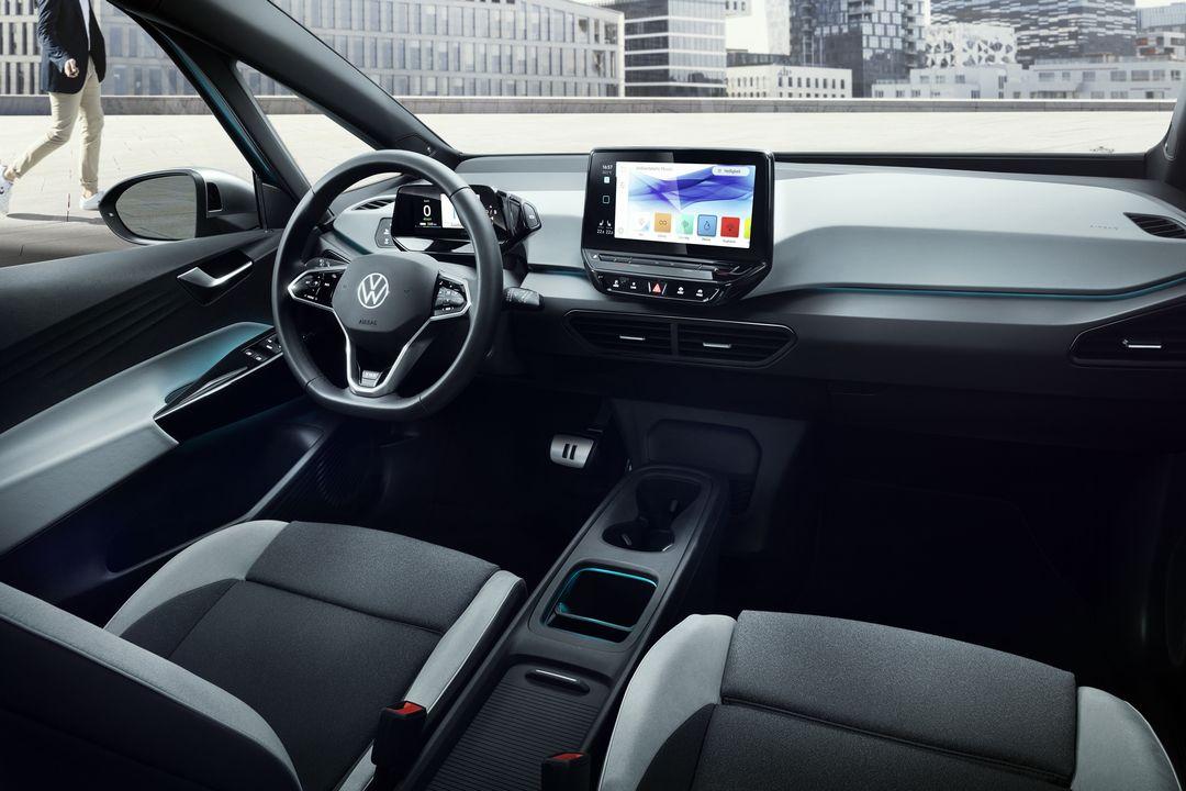 Intérieur Volkswagen ID.3 électrique