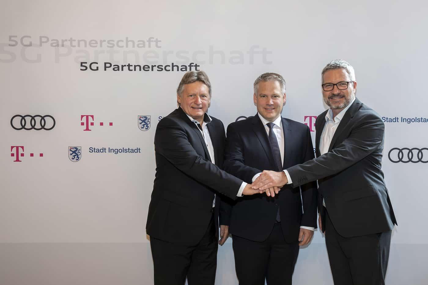Audi 5G Deutsche Telekom