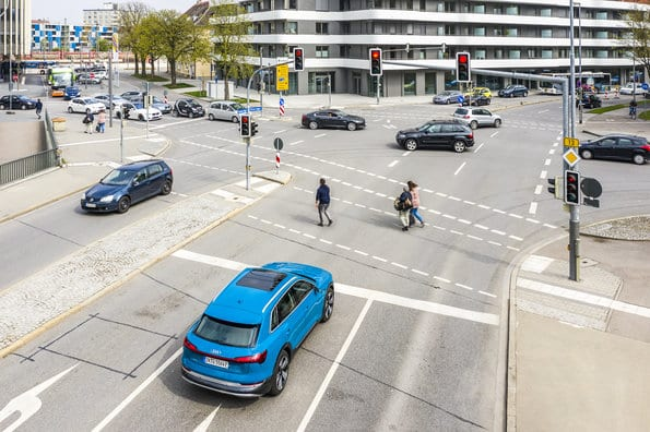Audi feux rouge 5G