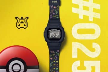La monter Casio Baby-G en édition Pokémon