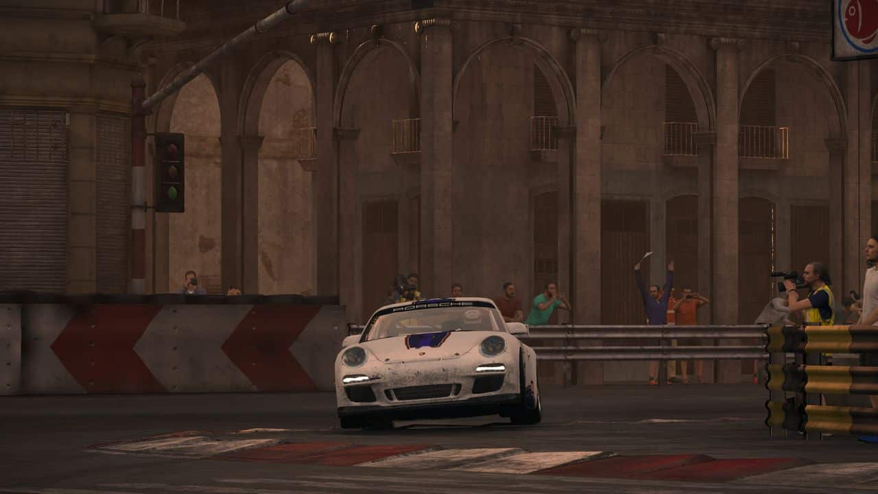 Test GRID PS4 Pro Porsche