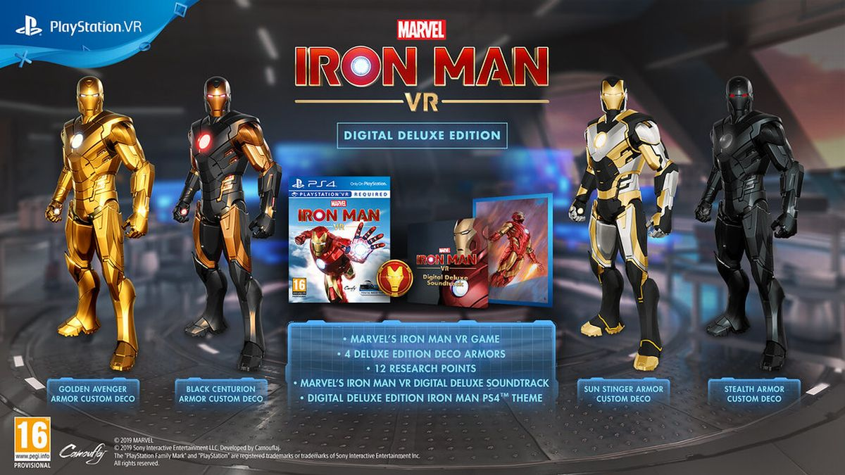 Iron Man VR Deluxe Edition