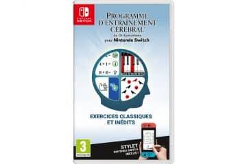 Date de sortie Programme d'Entrainement Cérébral Nintendo Switch