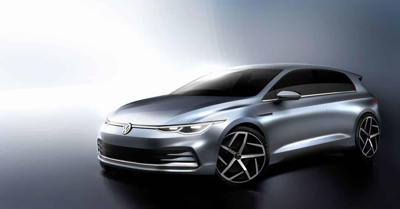 La nouvelle Volkswagen Golf 8